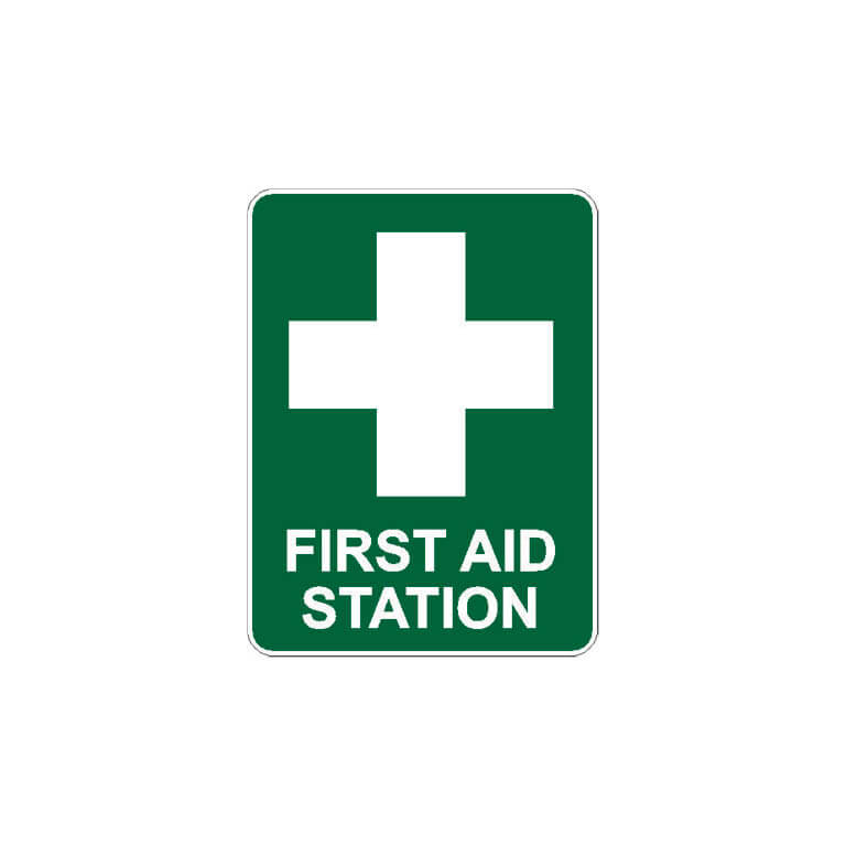 First Aid Signage